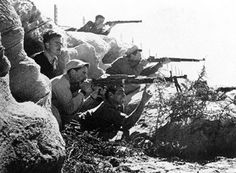 May 1948 to July 1949 War of Independence—Israel attacked by five Arab nations, 1% of Israelis killed