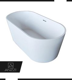Bathtub Designed To Cradle the Body's Form for Max Comfort - Our bathtub is ergonomically oval designed to cradle the body's form for maximum comfort with a classic and contemporary flair. Click here to know more: http://www.homedepot.com/p/ANZZI-Dover-5-6-ft-Acrylic-Classic-Freestanding-Flatbottom-Non-Whirlpool-Bathtub-in-White-and-Sol-Faucet-in-Chrome-FT009-0027/206951986 #BathroomDecor #Bathtub #Bathroom #Bathtubs #FreeStandingBathtub