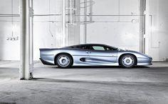 Jaguar XJ220 on supercars.net