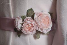 """Купить Свадебные аксессуары """"Винтажные розы"""" - кремовый, подушечка для колец, подушечка свадебная, подушечка красивая"""