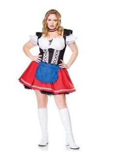 Ladies Blonde Wig /& Bunches Heidi Country Girl German Fancy Dress