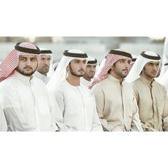 Maktoum MRM, Majid MRM, Hamdan MRM y Rashid MRM. Vía: Faisal Al Rais