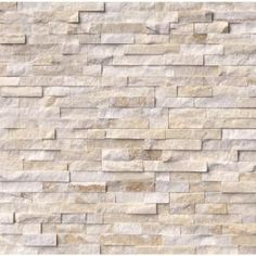MS International Arctic Golden Splitface Ledger Panel 6 in. x 24 in. Quartzite Wall Tile (6 sq. ft. / case) QARCGLD624 at The Home Depot - Mobile