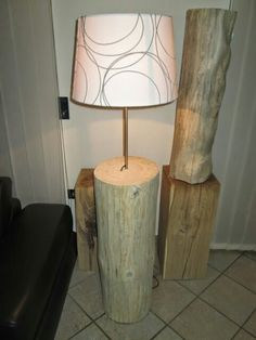 Baumstammlampe