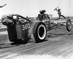 Very early dragster