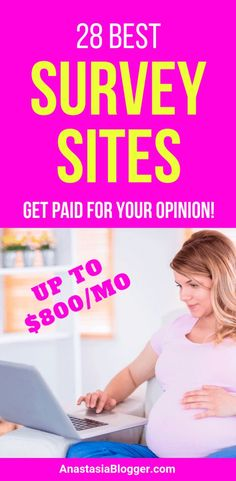 Make money online. Get paid for surveys! Online surveys for money, Online surveys that pay, Paid online surveys. Get a list of best online surveys in the US, Canada and the UK! Make money at home, make money online Take Surveys For Money, Get Paid For Surveys, Make Money Online Surveys, Earning Money, Online Survey Sites, Survey Sites That Pay, Survey Companies, Online Jobs, Legit Paid Surveys