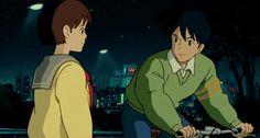 ( 株式会社スタジオジブリ ) Whisper of the Heart; 耳をすませば Seiji Amasawa and Shizuku Tsukishima ♡