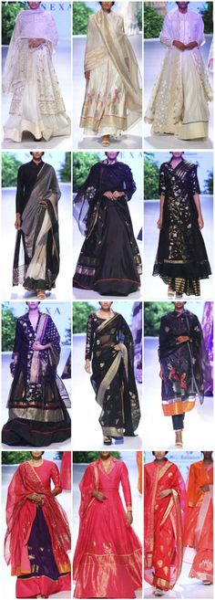 Rahul Mishra at LFW 2017 Winter Festive Collection