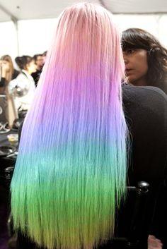 MY LITTLE PONY HAIR!! #hair #rainbow,  Go To www.likegossip.com to get more Gossip News!