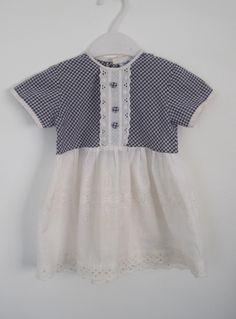 Girls' 1960s vintage Gingham dress £14