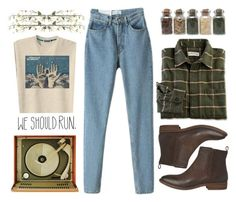 """We should run"" by imennett ❤ liked on Polyvore featuring moda, Chloé, Ella Doran ve Linea"