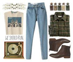 """We should run"" by imennett ❤ liked on Polyvore featuring moda, Chloé, Ella Doran ve Linea"