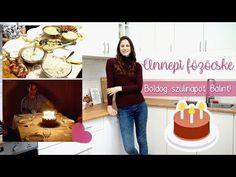 Gluténmentes családi ebéd | Boldog születésnapot Bálint!🎉🎂 - YouTube Youtube, Youtubers, Youtube Movies