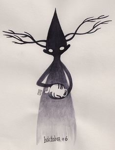 October is ways away, but Inktober is forever. Wirt The Beast by Coni Schedia