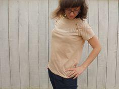 """Shirt """"Lova"""" mit Unterteilung nähen"""