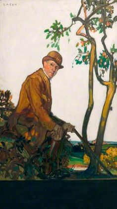 The Park Keeper, Custodian of Our Open Spaces Transport Museum, Bethnal Green, Painter Artist, National Art, Us Open, The V&a, Art Uk, Victoria And Albert Museum, Art Studies