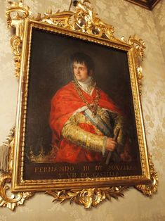Retrato de Fernando VII por Goya en la diputación de Navarra (mejor calidad) Fernando Iii, Painting, Art, Portraits, Historia, Art Background, Painting Art, Paintings, Kunst