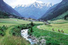 St. Leonhard im Pitztal: der höchste Bergsommer in Tirol am höchsten Gletscher Tirols - Pitztal: ein Paradies für Wanderer und Bergsteiger. #DachTirols