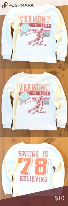 Peek Kids Thermal Soft comfortable excellent condition extra small size 2-3 toddler skiing is believing Peek Shirts & Tops