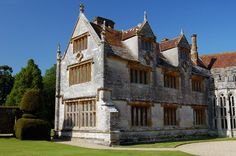 Haunted Athelhampton hall in England