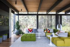 Unexpected Bursts of Color Enliven a Midcentury Pad in Australia - Photo 1 of 7 - Dwell