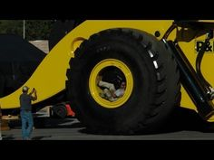 Biggest wheel loader in the world 70 yard super high lift LeTourneau L2350 - YouTube http://www.awesomewebmall.com