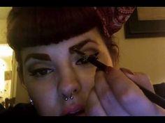 Tess Munster's Eyebrow Tutorial