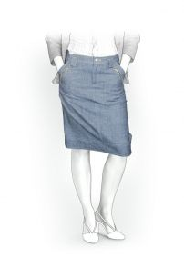 Lekala Sewing Patterns - WOMEN Skirts Sewing Patterns Made to Measure and Royalty Free