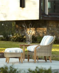 Edgewood Outdoor Lounge Chair, Natural