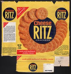nabisco cracker boxes | Nabisco - Cheese Ritz cracker box - 1970's | Flickr - Photo Sharing!