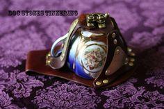 Steampunk tea cup holster