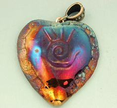 Hand On My Heart Pendant by elementspottery on Etsy  You are coming alive in Colorado!