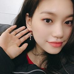 Kim Doyeon, Unique Faces, Bright Eyes, Kpop Girls, Girl Crushes, Asian Beauty, Pure Products, Kpop Outfits, Pretty Girls