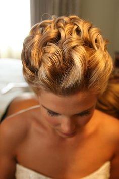 Wedding hairstyle debijanos mimilyie