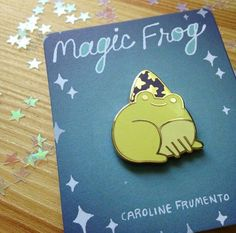 Magic Frog Pin Badge #pinsandpatches