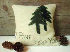 Decorative Pillows / Decorative Balsam Fir Pillow / by AwayUpNorth