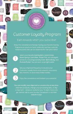 Scentsy Customer Loyalty Program  https://roseamber.scentsy.us