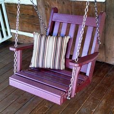 A&L Furniture Co. Traditional English Poly Chair Swing - 931
