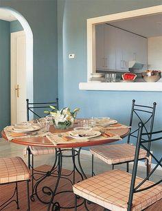 Cocinas con pasaplatos cocinas dobles y comunicacion - Muebles epoca salamanca ...
