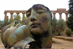 Igor Mitoraj,at Valley of the temples in Agrigento,Italy.