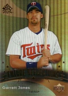 2005 Upper Deck Reflections Baseball #227 Garrett Jones Rookie Card by Upper Deck. $7.95. 2005 Upper Deck Reflections Baseball #227 Garrett Jones Rookie Card. Near Mint to Mint condition. Comes in a plastic top loader for its protection.