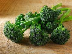 Fresh broccoli heads