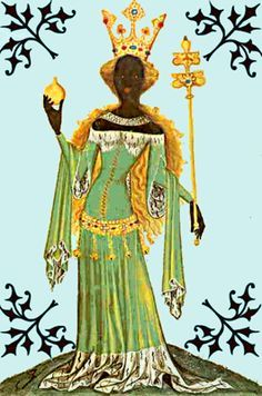 The daughter of Queen Ismenie, Makeda, also referred to as the Queen of Sheba, was born in Ophir 1020 BC. Legends about the Queen of Sheba are told throughout Ethipoia and several other middle eastern countries. She is described as a queen who had possessed the gift of ruling with a woman's heart, as well as with a man's head and hands. She is especially remembered for her betrayal of her culture's gods to begin following the Israelites (Jews).