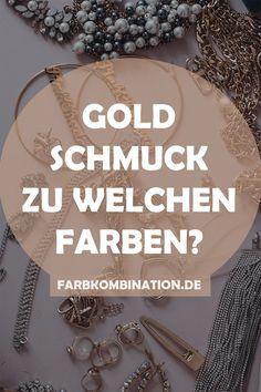 Goldschmuck kommt in vielen verschiedenen Ausführungen. Die darunter bekanntesten Variationen sind Gelbgold, Altgold, Roségold und Rotgold. Natürlich könnte man für jede Farbstufe einige Überlegungen anstellen, doch die Farben lassen sich gut zusammenfassen. Lediglich ein kleiner Unterschied besteht bei Gold zu Roségold. Die Farben lassen sich etwas anders kombinieren. Bracelets, Jewelry, Gold Jewellery, Jewelry Making, Tips, Jewlery, Jewerly, Schmuck, Jewels