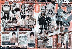 El Anime Boku no Hero Academia se estrenará Abril del 2016 y revela dos nuevas voces.