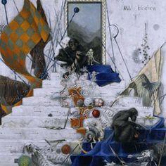 Jonas Burgert works 2004 - Milch bleichen, Vorkämpfer, Waffenschwestern, Mondjäger, Verräter Creative Destruction, Cobra Art, Retro Futurism, Best Artist, Artist At Work, Fireworks, Art Reference, Paint Colors, Creepy