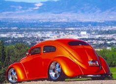 Chopped & shaved oval window VW