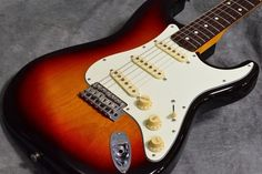 Fender Japan ST62-TX 3TS  Used Electric Guitar Free shipping EMS #FenderJapan