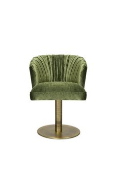 Nuka is a glacier in Alaska, known for its sublime beauty. NUKA Swivel Dining Chair was inspired by this magnificent natural monument fitting perfectly any sober home decor.