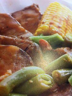Easy crockpot recipes: Ranch Beef Roast with Corn Crockpot Recipe